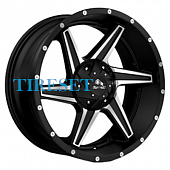 Buffalo 9x20/5x150 ET38 D110,1 BW-011 Satin Black Machined